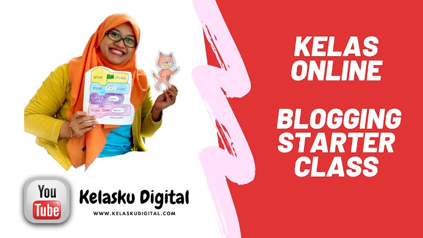 Kelas Online Blogging Untuk Pemula