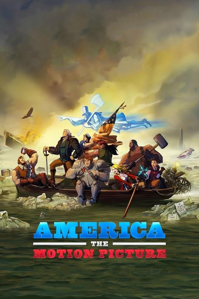 America The Motion Picture 2021 x264 720p WebHD Esub Dual Audio English Hindi THE GOPI SAHI