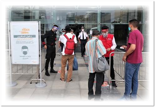 صحافة تارودانت بريس: الأمن يشدد المراقبة على المسافرين بمحطة طنجة