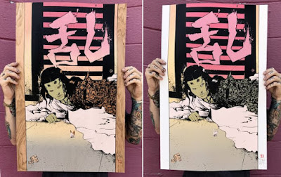 Kadae Screen Print by Paul Pope & Nakatomi