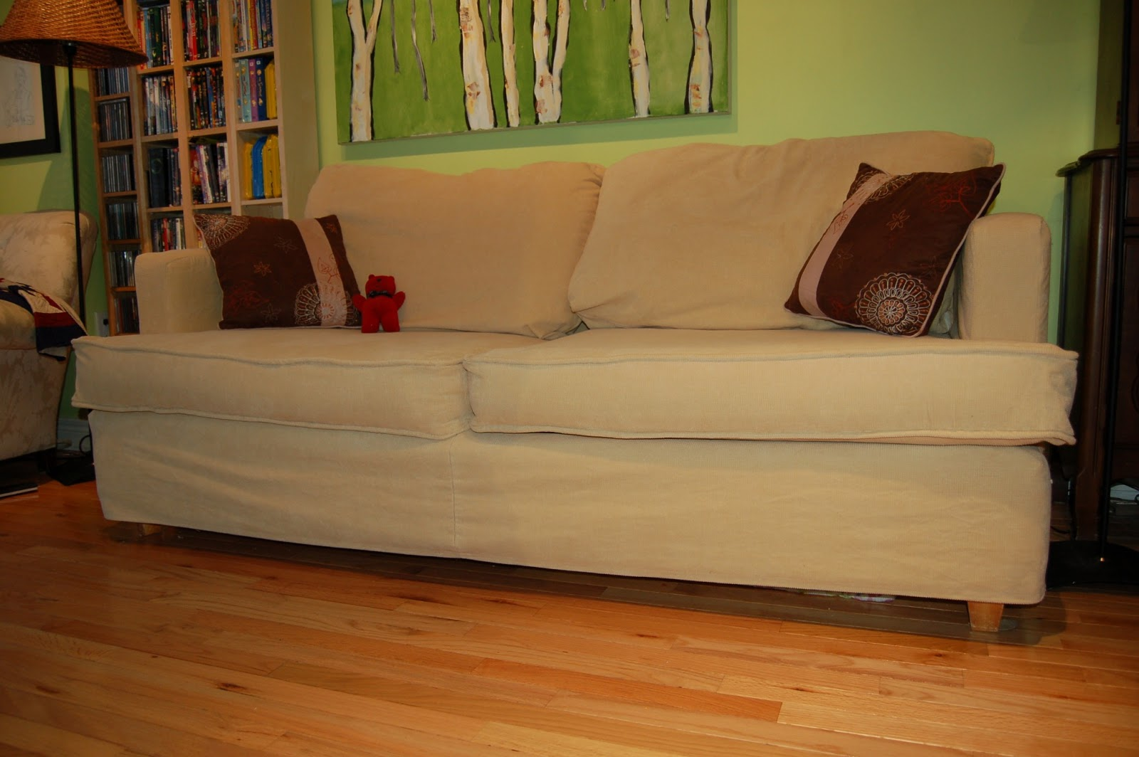 Baltic to Boardwalk: Slipcover Tutorial - How to DIY a ...