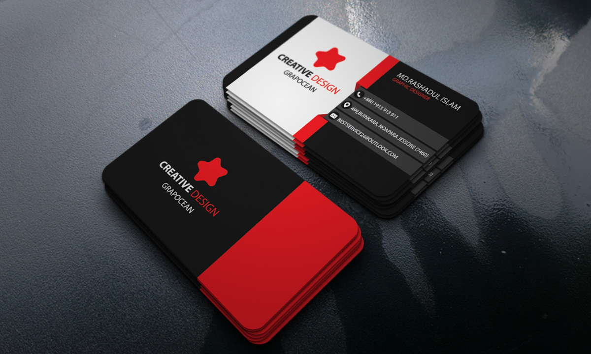 How to make a colorful business card in adobe illustrator.