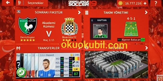 DLS19 Süper Lig Takımı Denizlispor Takım Yaması İndir (Şampiyon Kadro)