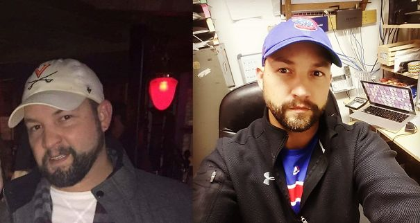 10+ Before-And-After Pics Show What Happens When You Stop Drinking - 10 Months Down... Fat Face Mcgee. Go Cubs!