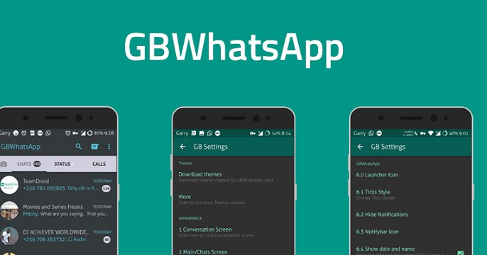 Download GBWhatsApp Latest MOD APK FULL 6.88 - PanutanGame ...
