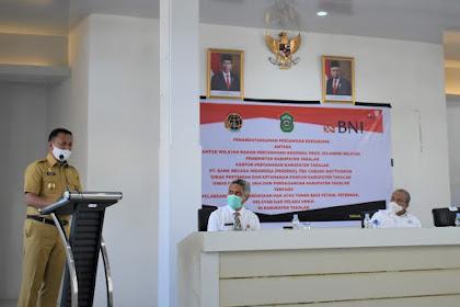 Bupati Takalar, BPN, dan Perbankan MoU pemberdayaan hak atas tanah petani dan pelaku UMKM