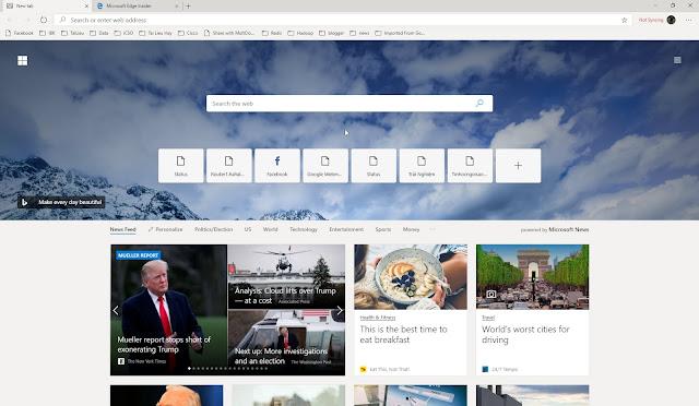 Mời tải về và trải nghiệm Microsoft Edge mới: nhanh, mượt, đã - CyberSec365.org