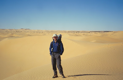 Massimo in the desert