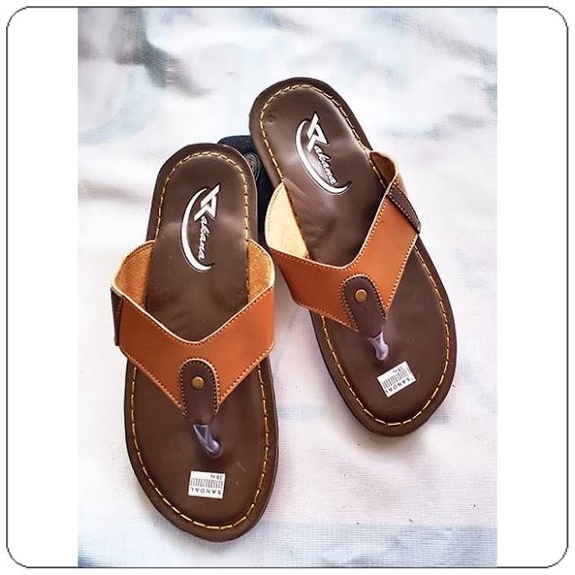 Grosirsandalmurah.org -Sandal kulit imitasi - Rakana Sol DWS