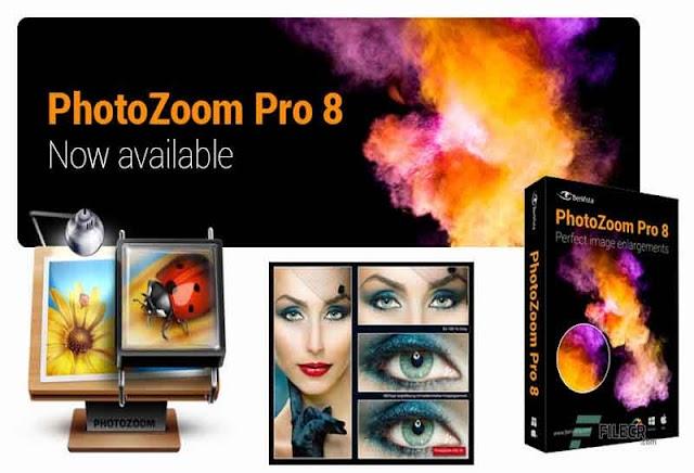 Benvista PhotoZoom Pro 8.0.4 (Repack & Portable) - Phóng to ảnh không bị vỡ hình