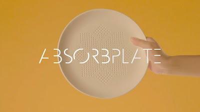 [Video] AbsorbPlate. Piring Pintar Yang Bisa Mengurangi 30 Kalori Di Makanan