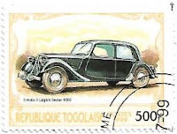 Selo Citroën II Légère Sedan 1950