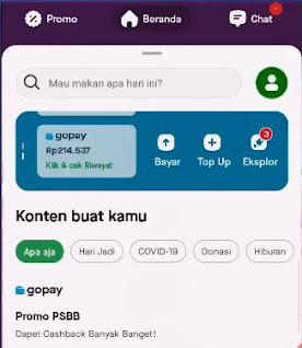 Cara Setting Akun Bank vTube ke GOPAY