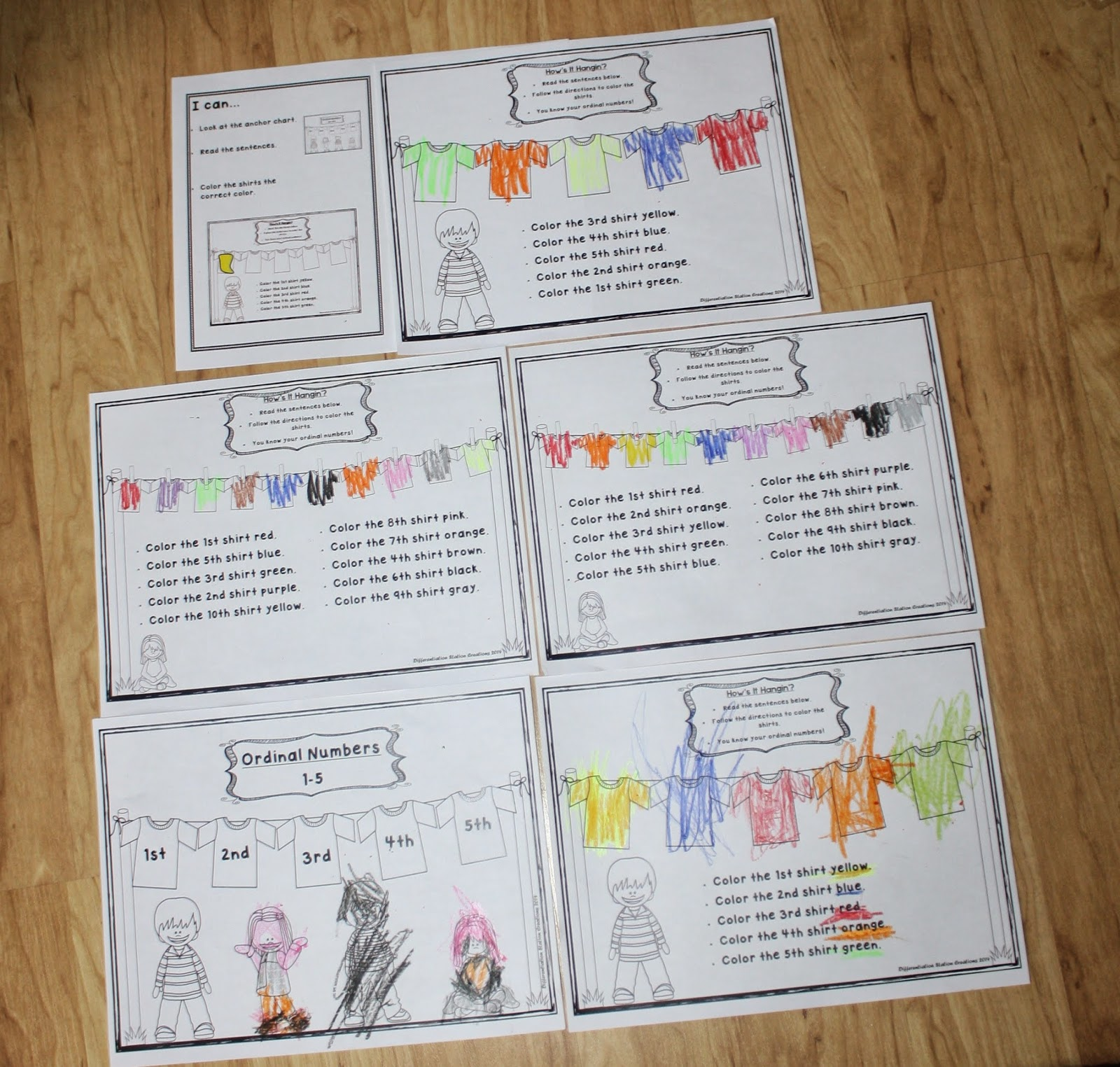 Differentiation Station Creations February