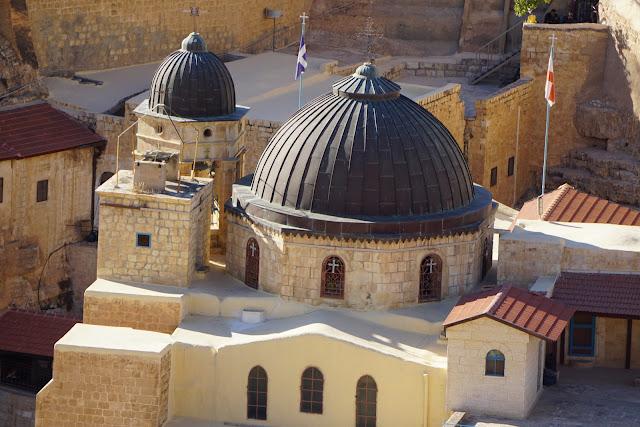 כנסייה במנזר במרסבא