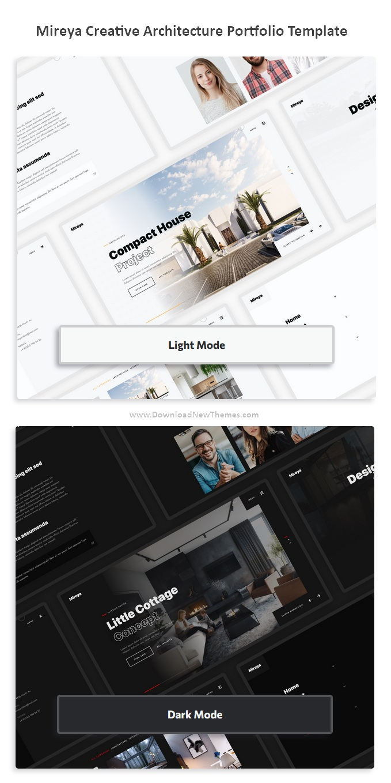 Creative Architecture Portfolio Bootstrap Template