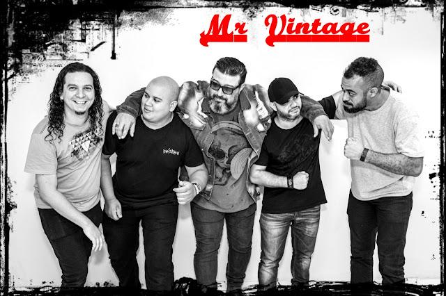 Mr. Vintage toca o melhor do Rock dia 13 de dezembro em show gratuito no Caxias Shopping