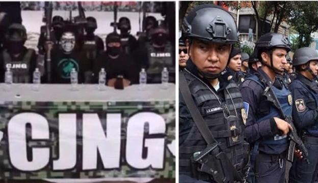 Por participar en detención de cedula de El CJNG y dar su apoyo a El Cártel de Sinaloa, amenazan en Narcomanta a policías de Guadalajara