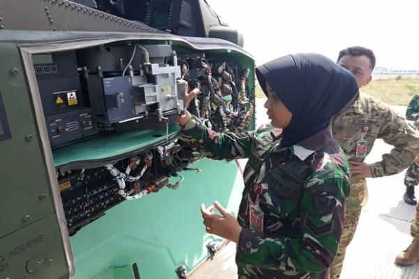 5 Fakta Menarik Wanita Pertama Teknisi Alutsista Terbaru TNI AD