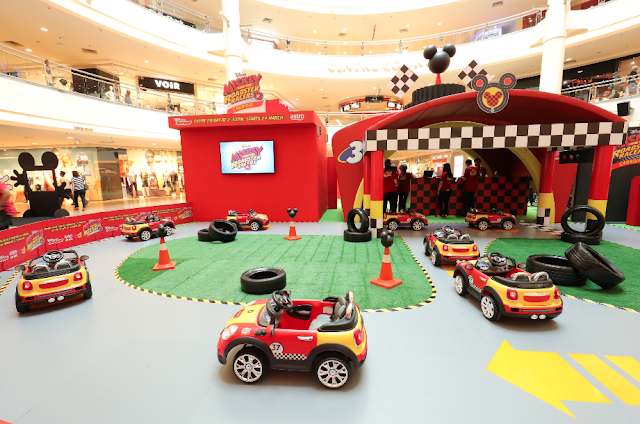Karnival Disney Junior Mickey and the Roadster Racers di Mid Valley