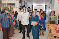 Bupati Trenggalek Bekerjasama Dengan Bank BRI Launching Website pasartrenggalek.com