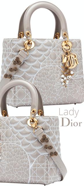 Lady Dior Art Bag by David Wiseman #brilliantluxury