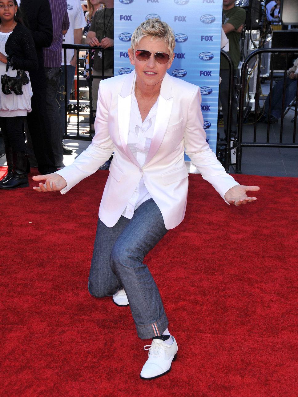 Ellen Degeneres Short Hairstyles Celebrity Hair Cuts