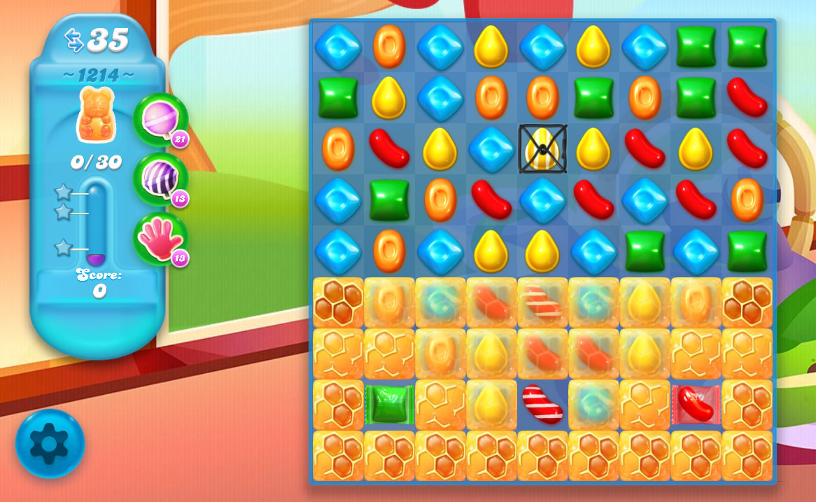 Candy Crush Soda Saga level 1214