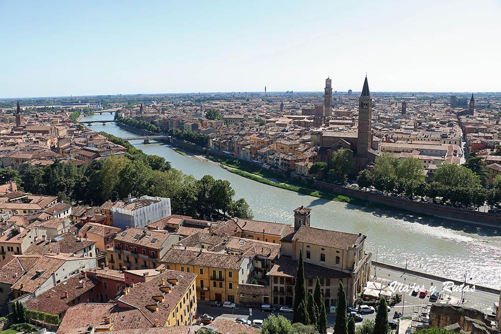 Mirador del Castell San Pietro y funicular
