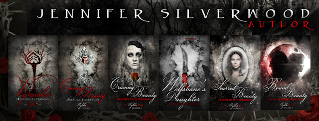 Jennifer Silverwood, author: series book covers