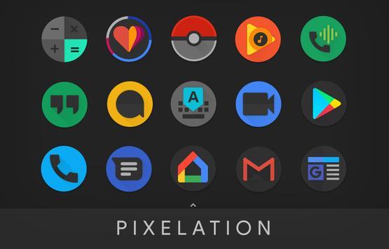تحميل تطبيق PIXELATION - Dark Pixel-inspired icons