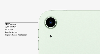 Apple iPad Air (2020) - improved camera- techmobileworld