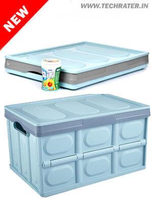 Foldable Storage Box for Car and SUV - Multipurpose Organizer