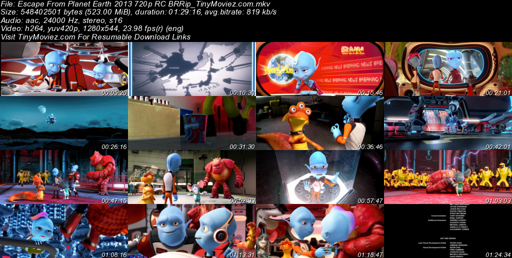 Escape From The Planet Earth (2013) Dvdscr-Edaw2013 DVDRip ...