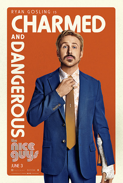The Nice Guys Ryan Gosling Charmed Poster