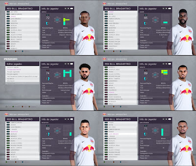 PES 2020 Facepack Red Bull Bragantino