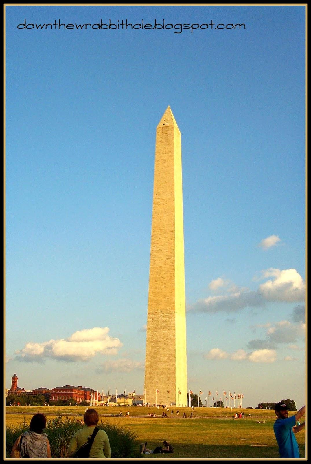 Washington Dc Monuments Names