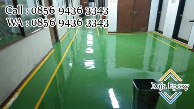 jasa cat epoxy lantai murah