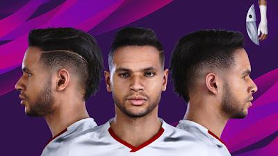 PES 2020 Faces Youssef En-Nesyri by Raden