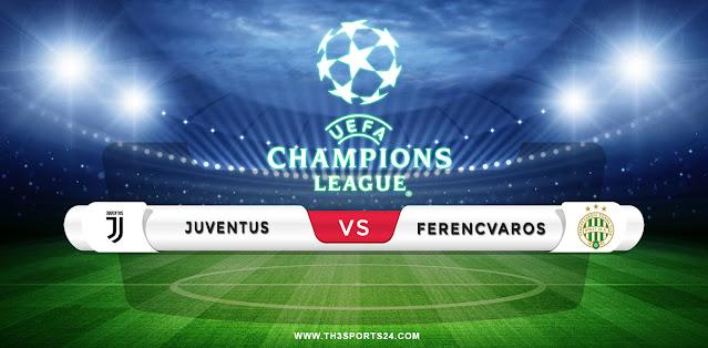 Juventus vs Ferencvaros Prediction & Match Preview
