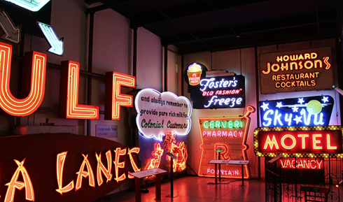 American Sign Museum Cincinnati Ohio