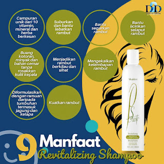 Shampoo dan Perapi Untuk Rambut Gugur Kering Kusut Kelumumur