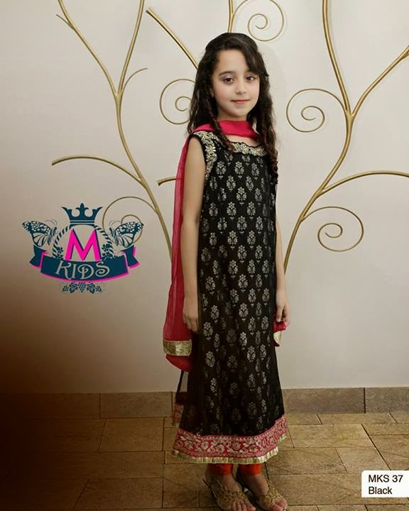 c565802f3d78 2014 Women Dresses Fashion Trends in Pakistan  Maria B Kids Party ...