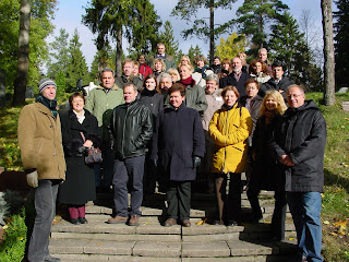 A group photo from the AGM 2002