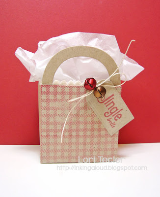 Jingle Bells Box-designed by Lori Tecler/Inking Aloud-stamps from Waltzingmouse Stamps