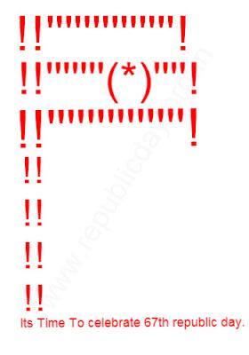 Republic-Day-ASCII-Sms