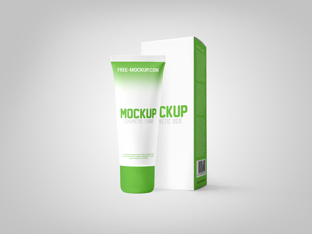 Download 600+ Best Cosmetic Tube Mockup Templates | Free & Premium