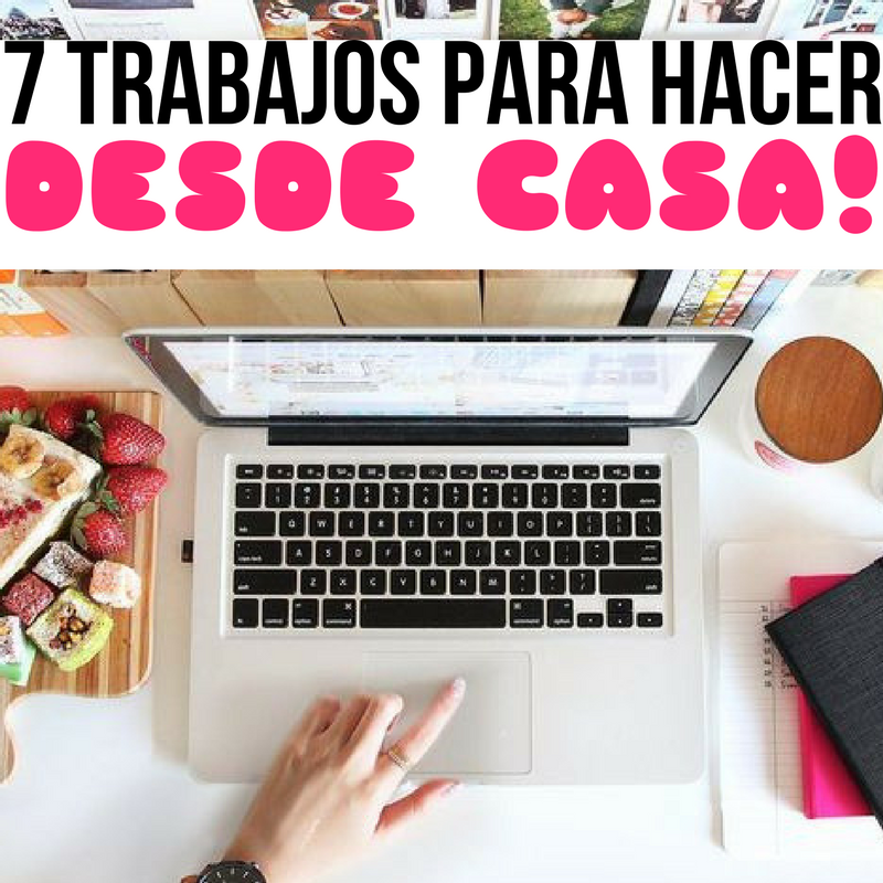 7 TRABAJOS PARA HACER DESDE CASA! - En Pocas Palabras