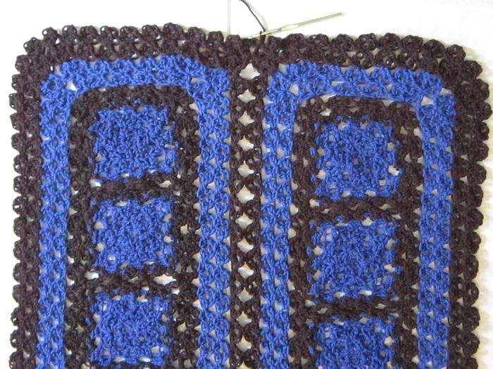 crochet, shawl, love knot