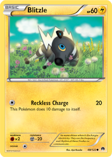 Blitzle BREAKpoint Pokemon Card
